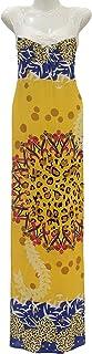 Women's mixed color casual pajama XL|XXL Golden Yellow