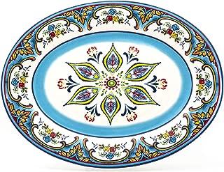 euro ceramica zanzibar platter