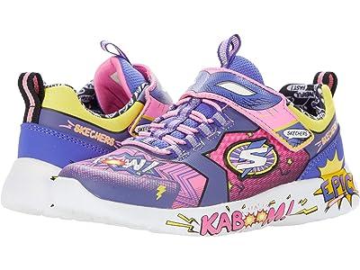 SKECHERS KIDS Sport Dynamight Hero Status 302204L (Little Kid/Big Kid) (Pink/Purple) Girl