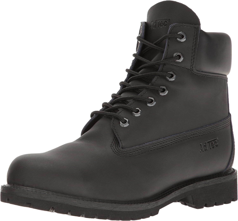 Adtec Mens 9688 6  Steel Toe Work Boot Black Work Boot