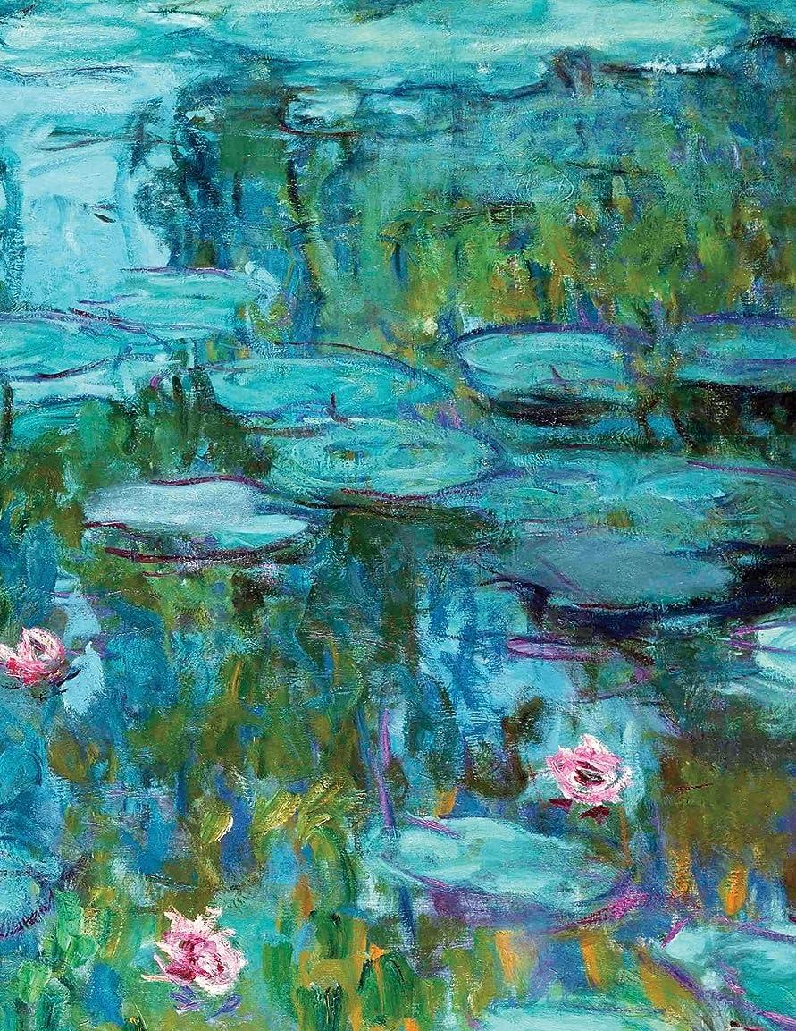 災害ベジタリアン頭蓋骨2019 Daily Planner: Claude Monet beautiful Water Lily Fine Art Cover and a full page sized 365 day at a glance planner to keep your schedule up to date. (Monet Water Lily)