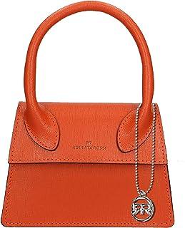 Roberta Rossi Outlet borsa a mano da donna in vera pelle Palmellato fatta a mano in Italia, 13x18x7 cm. Made in Italy RRSS...