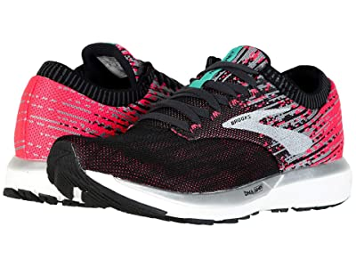 Brooks Ricochet (Pink/Black/Aqua) Women