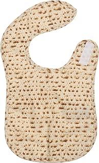 FIT RITE Matzah Designed Kids Passover Baby Bib Apron ~ Traditional Jewish Holiday Seder Gift