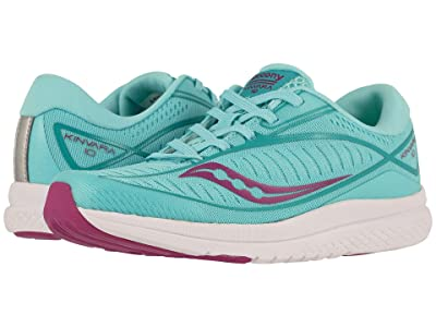 Saucony Kids Kinvara 10 (Little Kid/Big Kid) (Turquoise) Girls Shoes