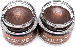 【お得な2個セット】EMAJINY Chocolate Brown C27 エマジニー チョコレートブラウンカラーワックス 濃茶 36g 【日本製】【無香料】【シャンプーでサッと洗い流せる1日茶髪】