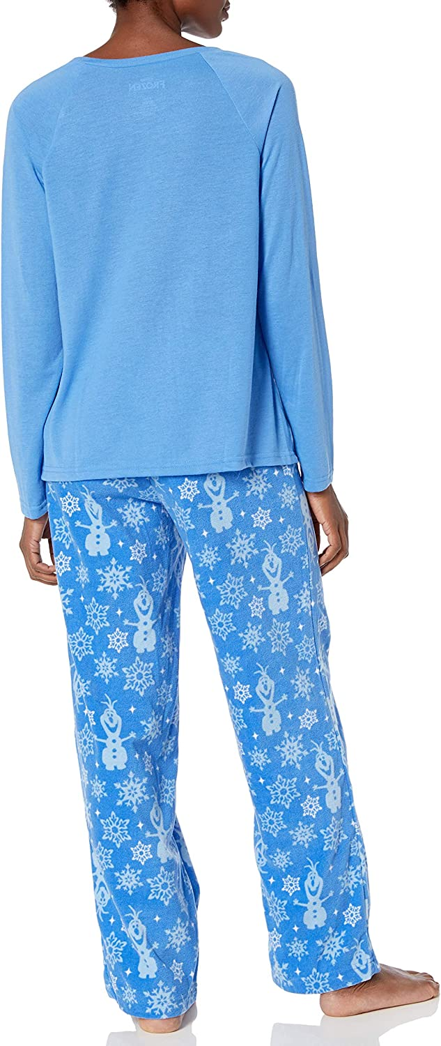 Disney Womens Frozen Holiday Family Sleepwear Collection Pajama Set