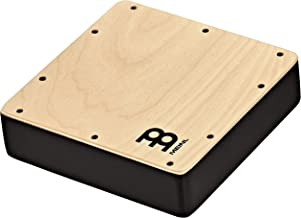 Meinl Percussion Pickup Cajon Snare Tap — MADE IN EUROPE — Baltic Birch Wood, Quarter-inch Input and Output Jacks, 2-YEAR ...