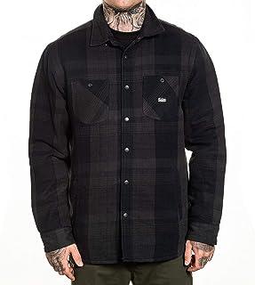 Sullen Men's Asphalt Flannel Long Sleeve Buttondown Jacket