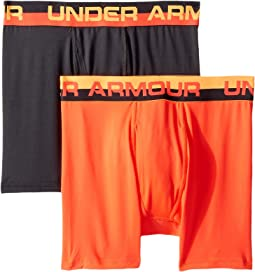 Under Armour Kids 2-Pack Solid Performance Boxer (Big Kids)