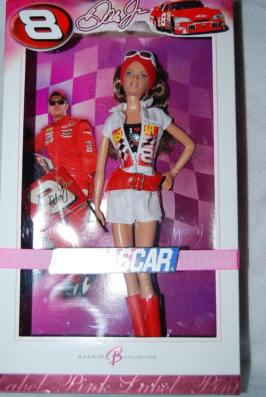 Barbie Collector 2007 Pink Label  Pop Culture Collection  Dale Earnhardt, Jr. NASCAR