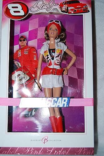 Dale Earnhardt Jr. MATTEL BARBIE poupée blonde NASvoiture OFFICIAL N° 8 course de voiture 2006 rose LABEL