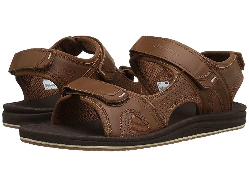 New Balance Purealign Recharge Sandal (Brown) Men