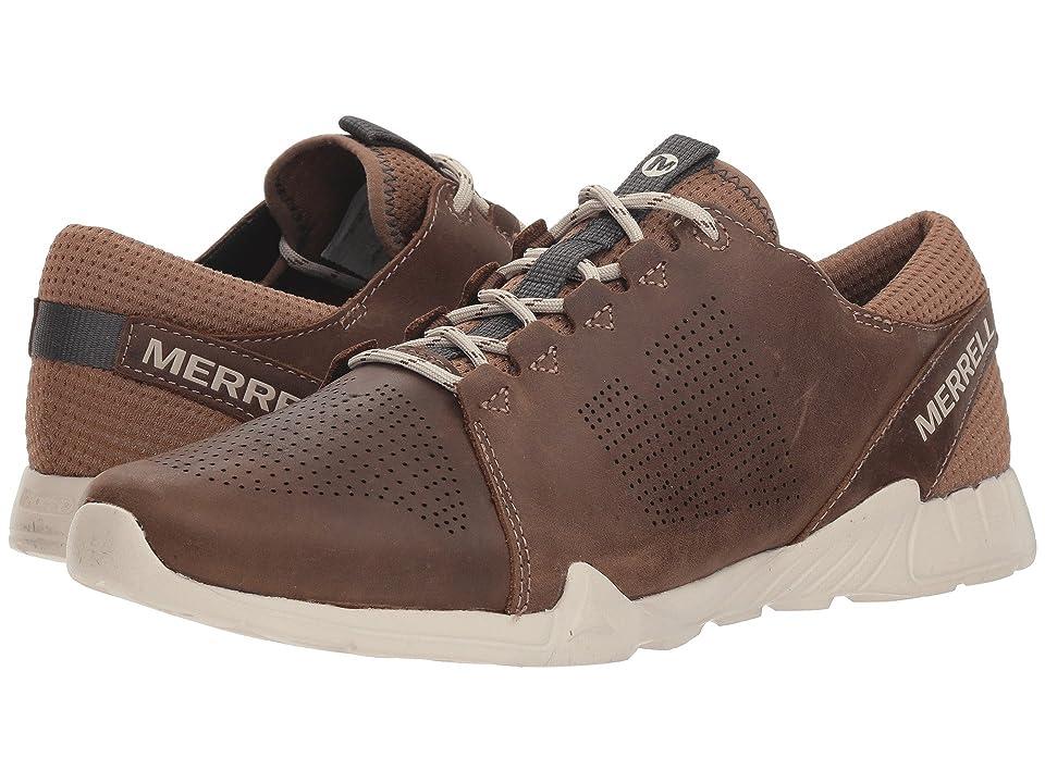 Merrell Versent Kavari Lace Leather (Dark Earth) Men