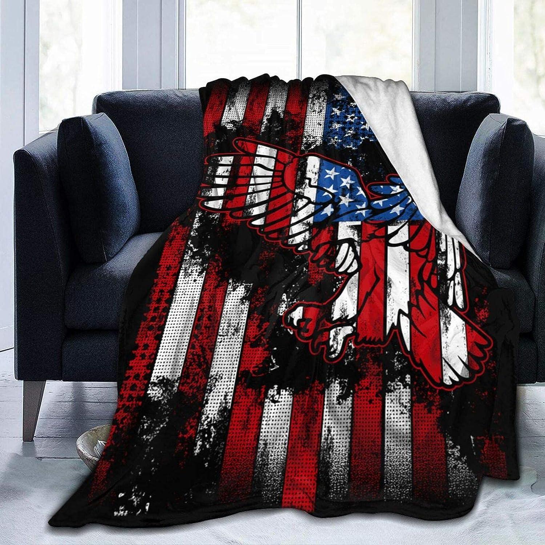 Throw Blanket Bed Ranking TOP12 Columbus Mall Blankets American Flag Eagle Indoor Picnic Bla