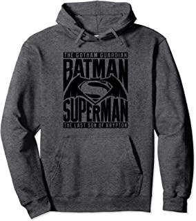 Batman v Superman Title Fight Pullover Hoodie