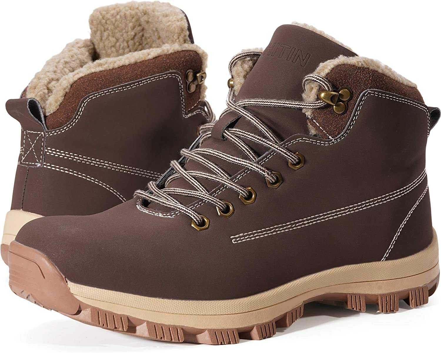 WHITIN Men's OFFicial Waterproof Ranking TOP14 Boots Cold-Weather