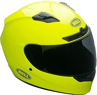 Bell Qualifier DLX Full-Face Motorcycle Helmet (Gloss Hi-Viz Yellow, Large)