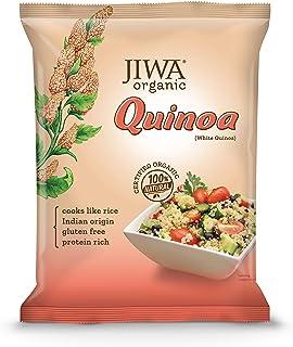 JIWA healthy by nature Organic Quinoa, 500 g, (Certified Organic & Gluten Free)