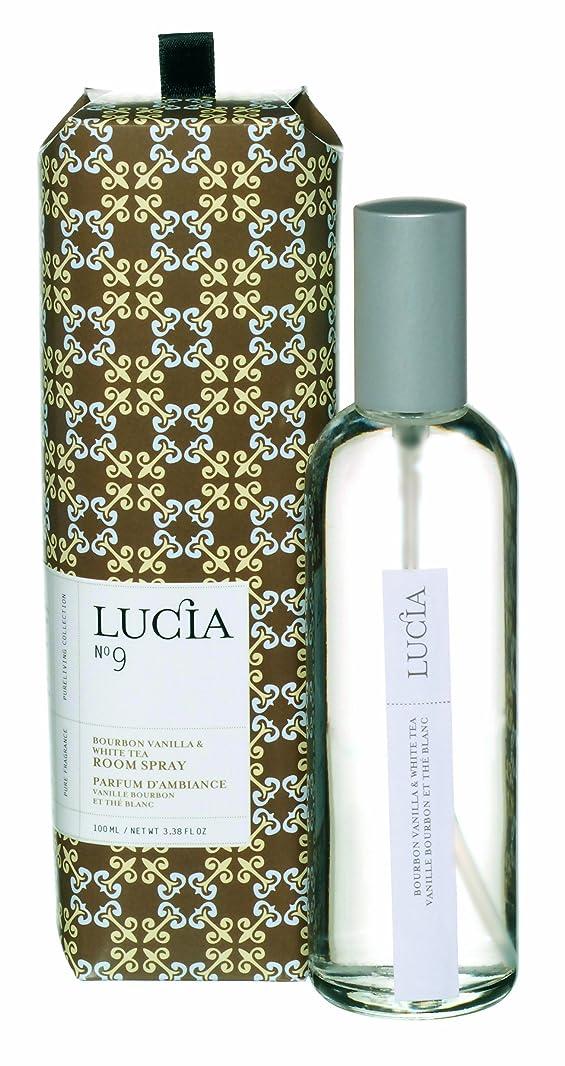 現れるコール定期的にLUCIA Collection ルームスプレー No.9 バーボンバニラ&ホワイトティ Bourbon Vanilla&White Tea Room Spray ルシア コレクション ピュアリビング Pureliving