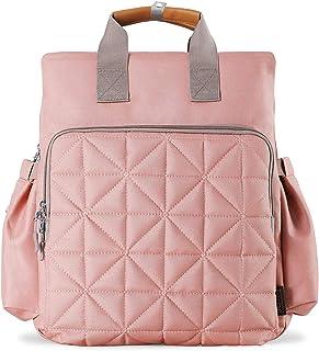 SoHo 系列,Kenneth 背包尿布包 5 件套 粉红色