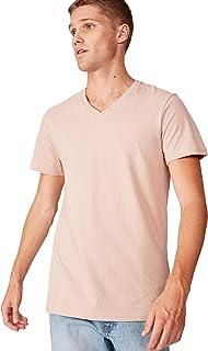 Cotton On Men's Essential Short Sleeve V-Neck T-Shirt