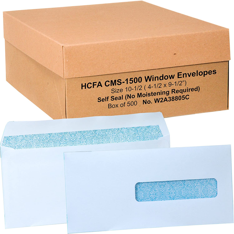 Hcfa Envelopes Window Style Size: 10-1 Omaha Mall 2