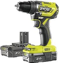 Ryobi R18DD5-220S Taladro Atornillador One+ Sin Escobillas De 18V C, 0 W, 18 V, Verde, Estàndar