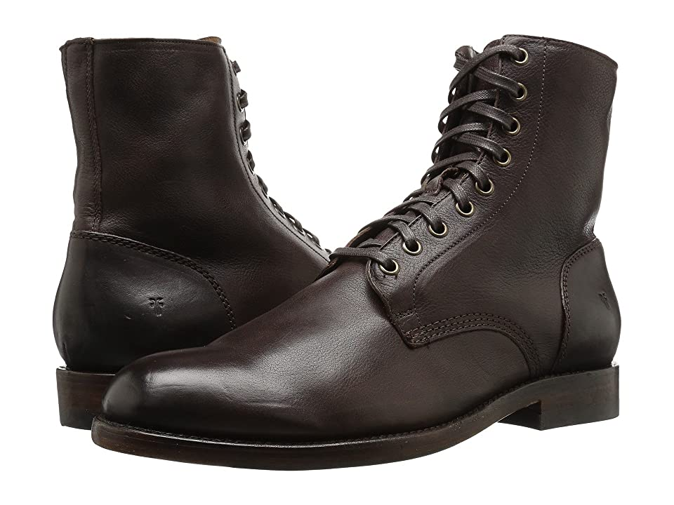 Frye Will Lace Up (Dark Brown) Men