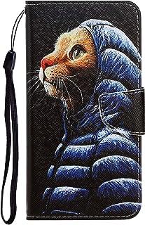 Fatcatparadise Funda para Samsung Galaxy A81 [con Protector Pantalla], PU Cuero Sintético e Gel TPU Carcasa Ultra-Fina Tap...
