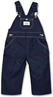 product image for Round House Little Boys Bib Overall - Made in USA (Blue 5)