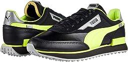 Puma Black/Safety Yellow