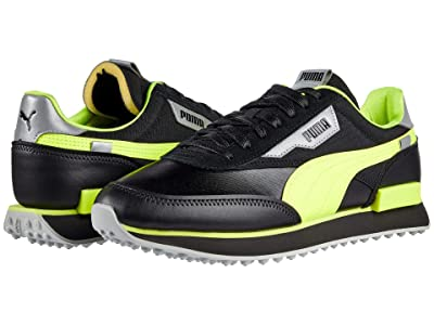 PUMA Rider Risk Alert (Puma Black/Safety Yellow) Men
