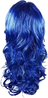 Blue Color Wig for Dress Up, Cosplay, Kids Adult Halloween Costumes