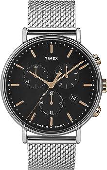 Timex Fairfield Chronograph 41mm Mesh Band Casual Mens Watch