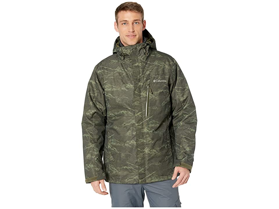 Columbia Whirlibirdtm III Interchange Jacket (Peatmoss Mountain Jacquard) Men