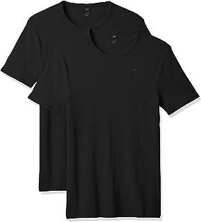 G-STAR RAW Men's Base r s/s 2p T-Shirt, 0
