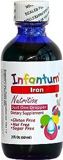 Infantum Iron, Child/Infant, No Artificial Flavor and Color, Liquid 60 Drops, 2 Fl. Oz (60ml)