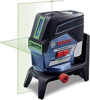 Bosch Professional Sistema 12V Nivel Láser GCL 2-50 CG (sin batería y cargador, láser verde, c/función aplicación, soporte, alcance visible: hasta 20m, en L-BOXX)