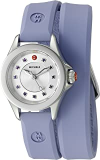 purple michele watch