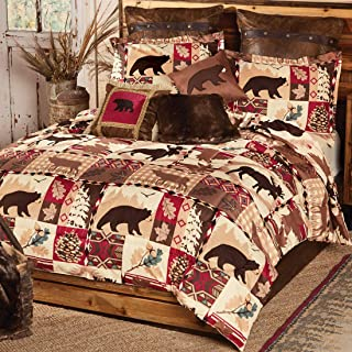 BLACK FOREST DECOR Durango Wildlife Bed Set - Queen