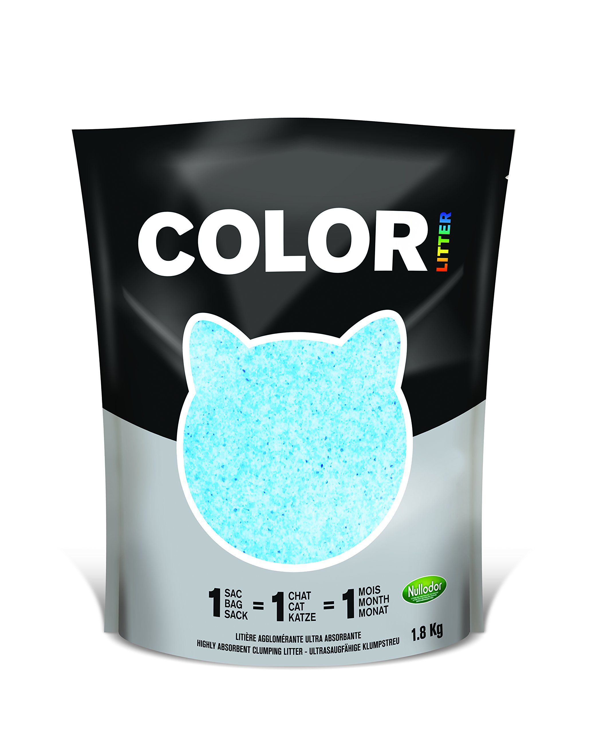 Nullodor Arena para Gatos Color Azul, 1,8 kg: Amazon.es: Productos ...
