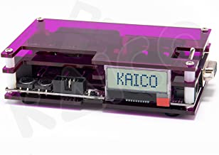 OSSC Open Source Scan Converter Replacement Coloured Case for Retro Gaming by Kaico (Transparent Purple)