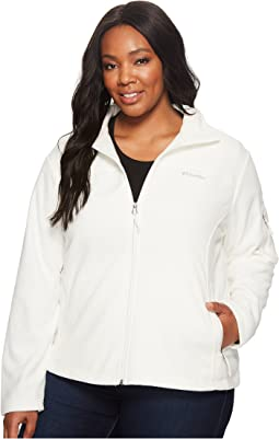 Plus Size Fast Trek™ II Full Zip Fleece Jacket