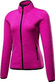 beroy Women Fleece Jackets Zip Up Sweater Jackets,Winter Fleece Coat for Women