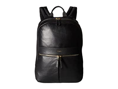 KNOMO London Mayfair Luxe Beaux Backpack (Black) Backpack Bags