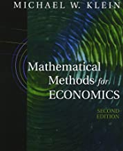 Mathematical Methods for Economics (2nd Edition)