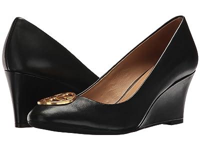 Tory Burch Chelsea 65mm Wedge (Perfect Black) Women