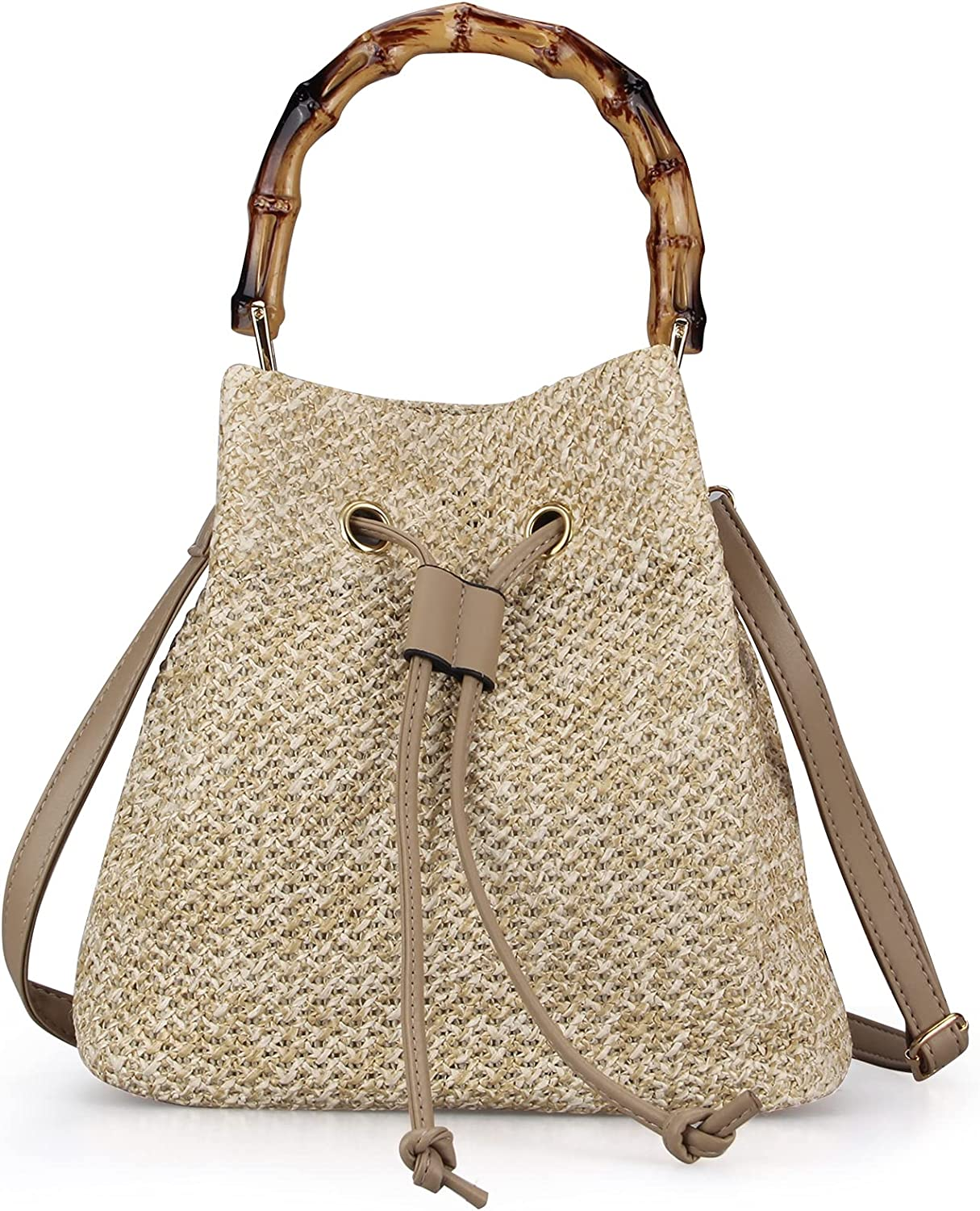 Straw Now on sale Bag Shoulder for Women Beach P Casual Crochet Sales for sale Handmade