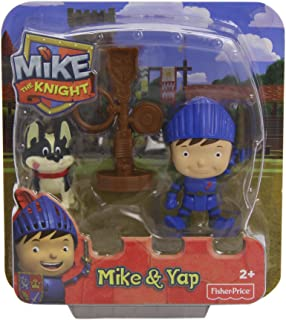 Mattel Y8357 - Fisher-Price Mike der Ritter Mike & Yap, figurki do gry